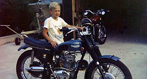 Mikes First Bike